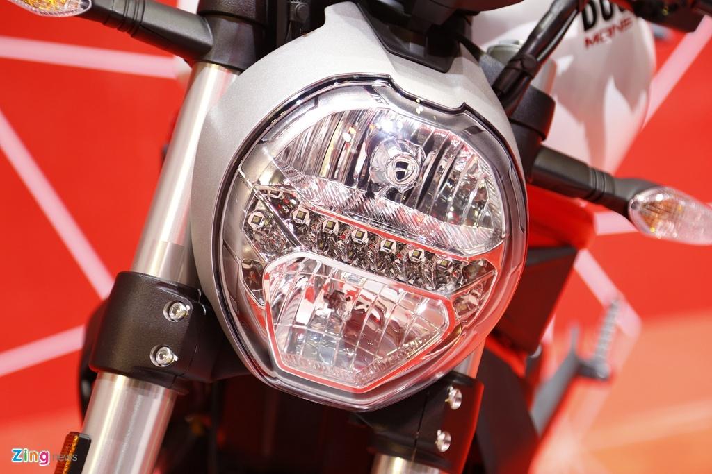 Chi tiet Ducati Monster 797 gia 390 trieu moi ra mat tai Viet Nam hinh anh 7