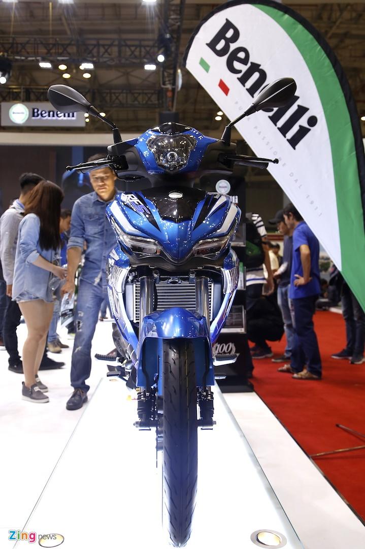 Chi tiet Benelli RFS 150i - doi thu Yamaha Exciter tai Viet Nam hinh anh 3