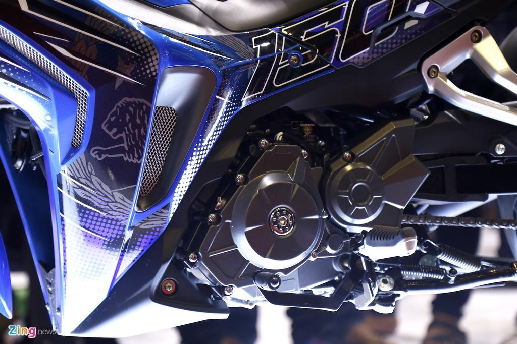 Chi tiet Benelli RFS 150i - doi thu Yamaha Exciter tai Viet Nam hinh anh 6