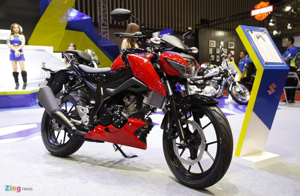 Suzuki GSX-S150 - doi thu Yamaha FZ150 moi ra mat tai VN hinh anh 1