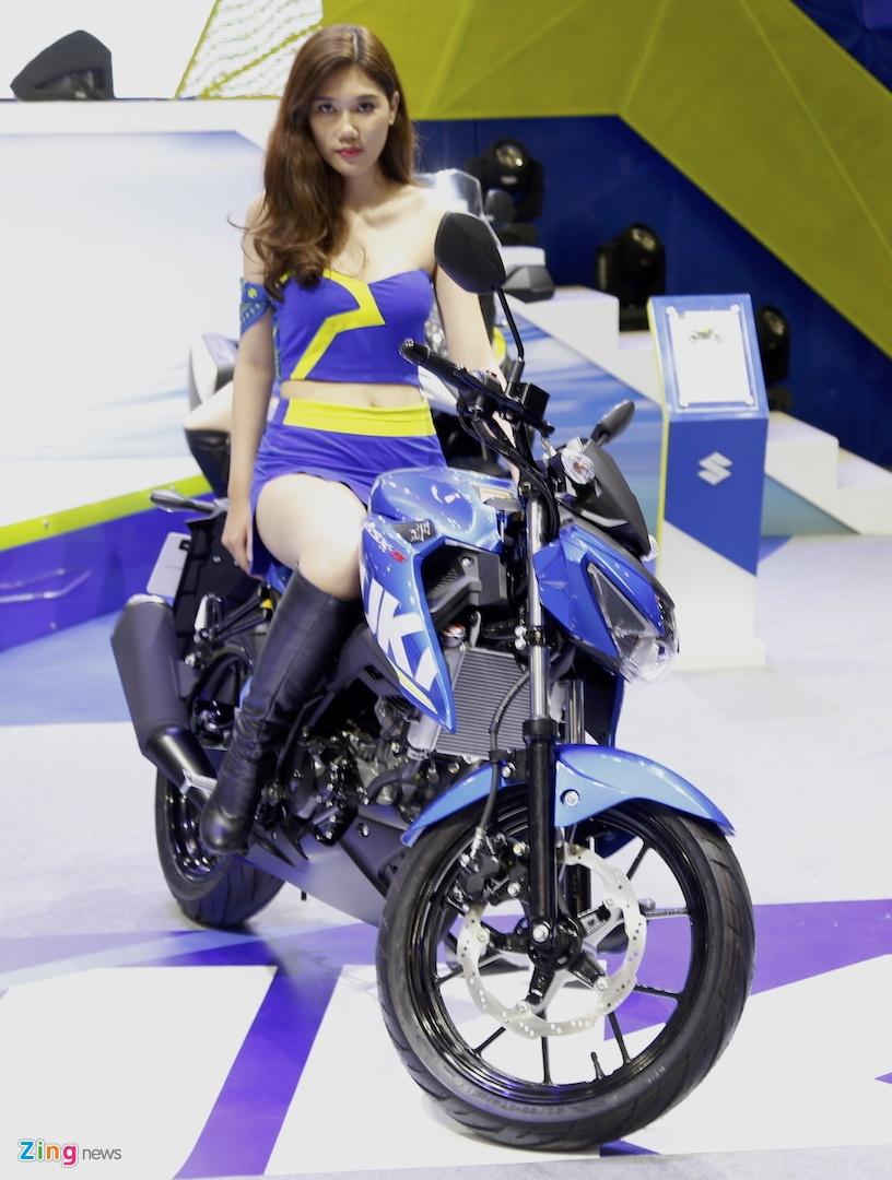 Suzuki GSX-S150 - doi thu Yamaha FZ150 moi ra mat tai VN hinh anh 10
