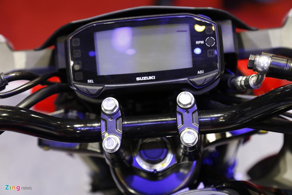 Suzuki GSX-S150 - doi thu Yamaha FZ150 moi ra mat tai VN hinh anh 5