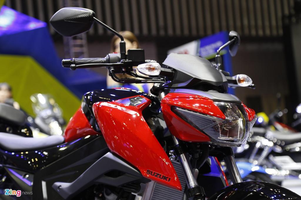 Suzuki GSX-S150 - doi thu Yamaha FZ150 moi ra mat tai VN hinh anh 7