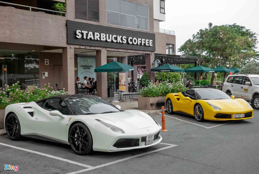 Sieu xe Ferrari 488 GTB cua Cuong Do La anh 1
