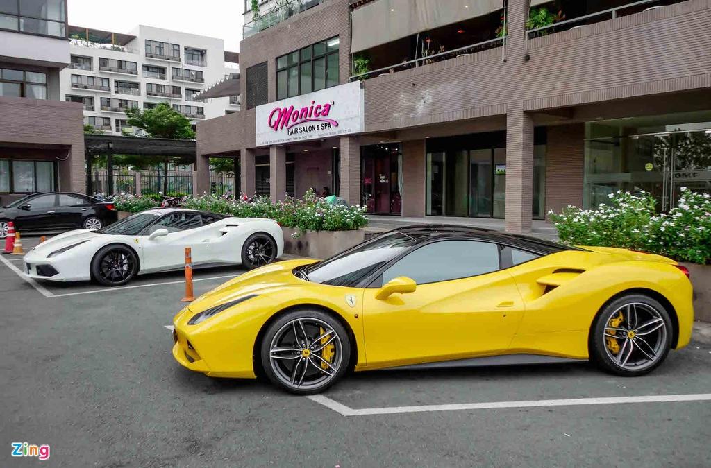 Sieu xe Ferrari 488 GTB cua Cuong Do La anh 2