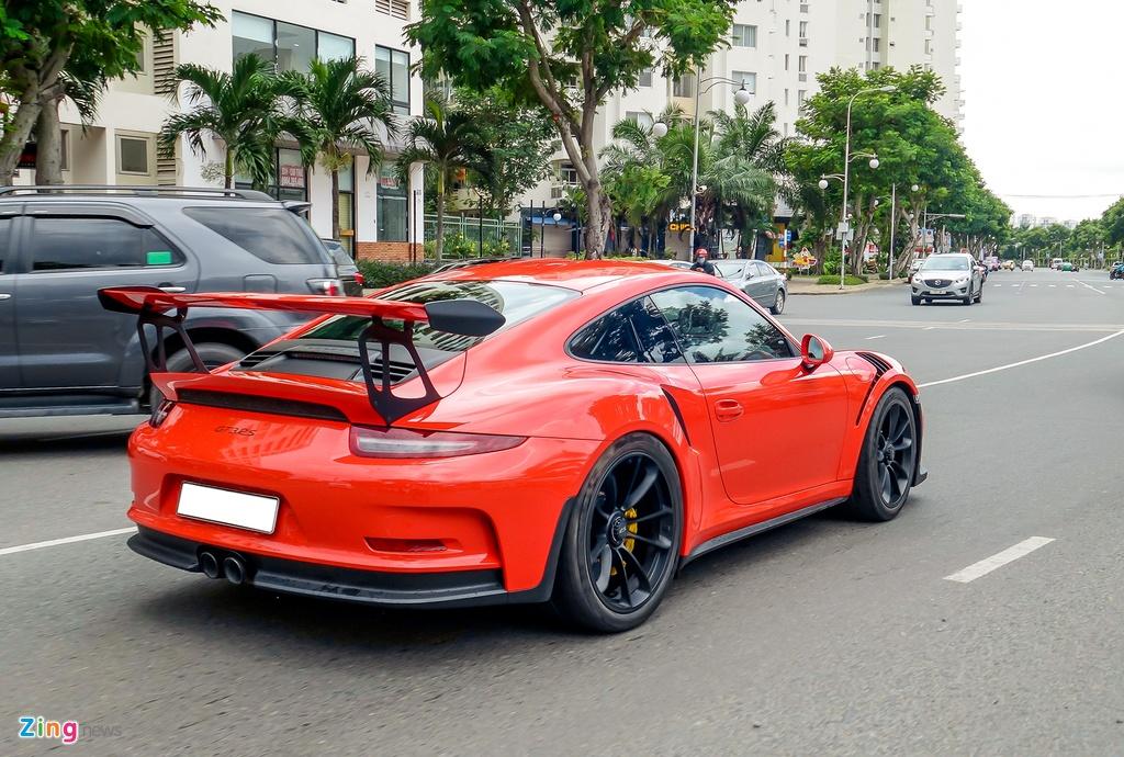 Cuong Do La tu tay rua sieu xe Porsche 911 GT3 moi tau hinh anh 8