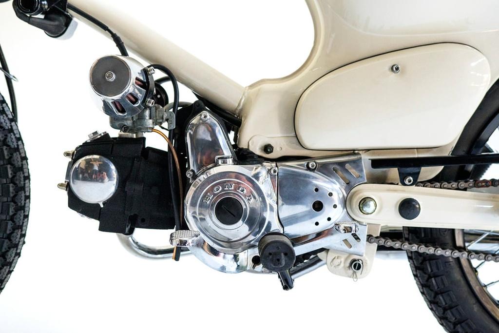 Honda Super Cub do dep cho nguoi thich luot song hinh anh 4