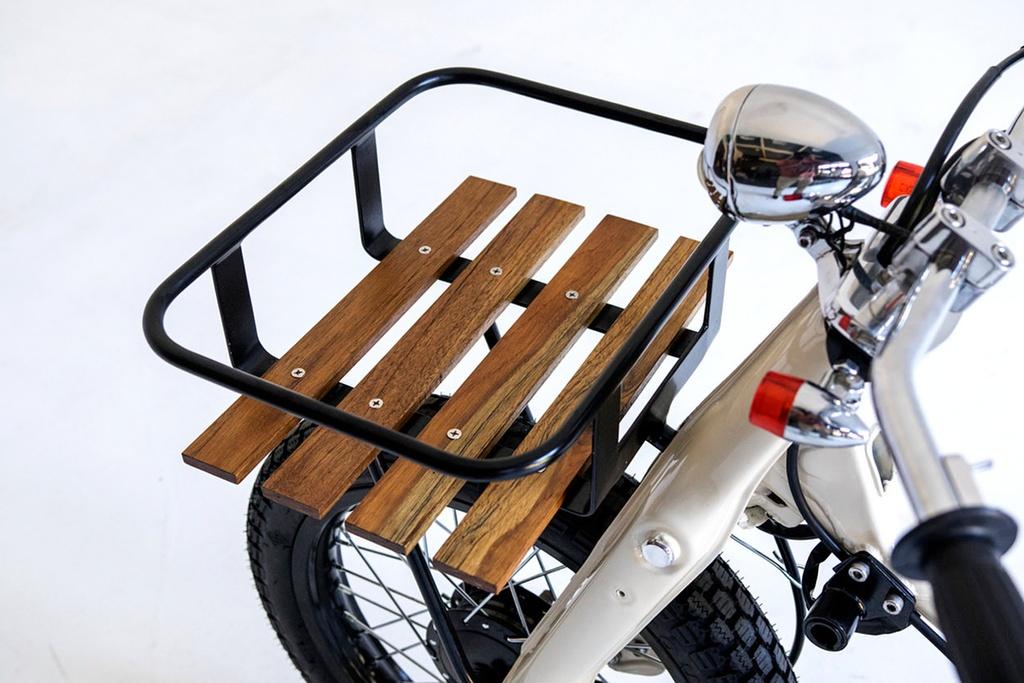 Honda Super Cub do dep cho nguoi thich luot song hinh anh 6