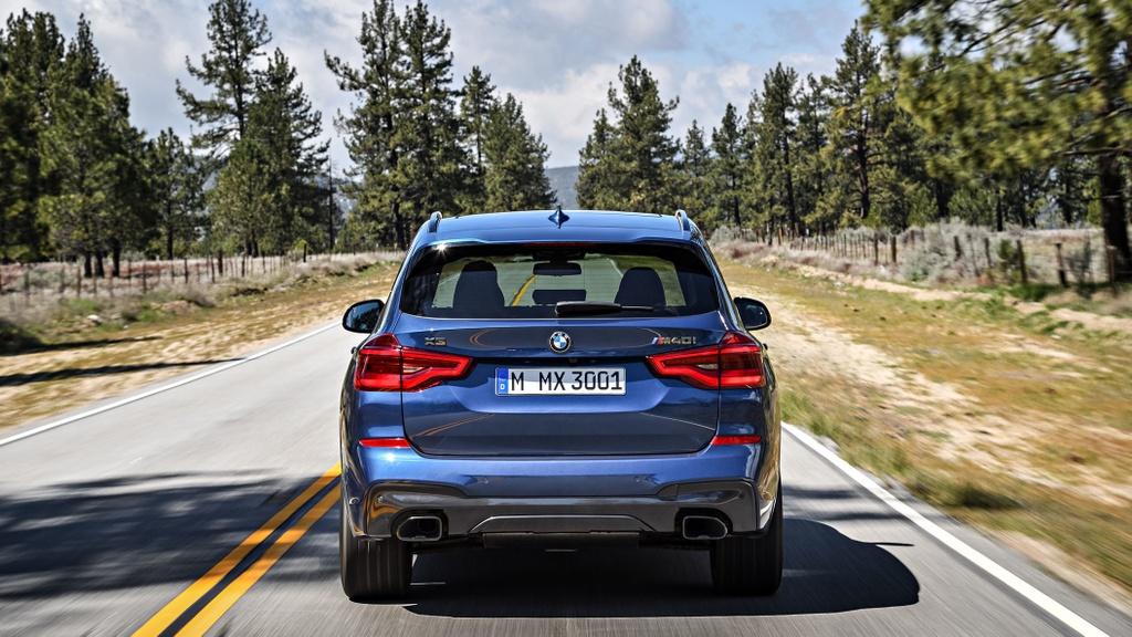 Chi tiet SUV hang sang co nho BMW X3 2018 vua ra mat hinh anh 3