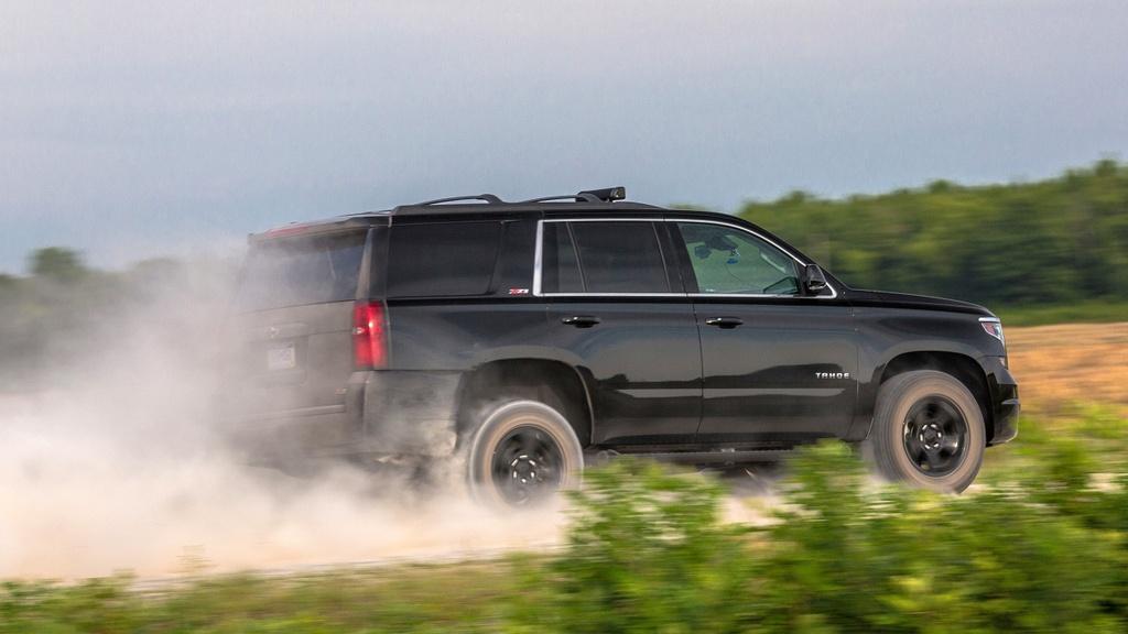 Chevrolet Tahoe - 'xe ma' ho tro luc luong dac nhiem hinh anh 3