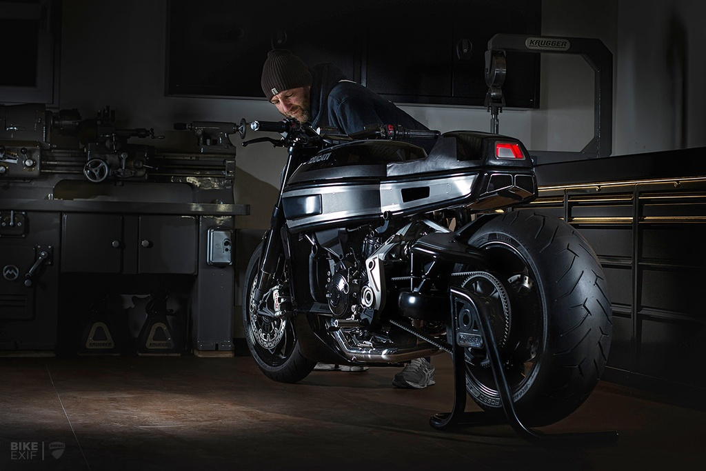 Ducati  XDiavel S do Cafe Racer anh 3