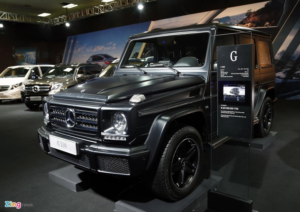 trien lam Mercedes Fascination tai Ha Noi anh 4
