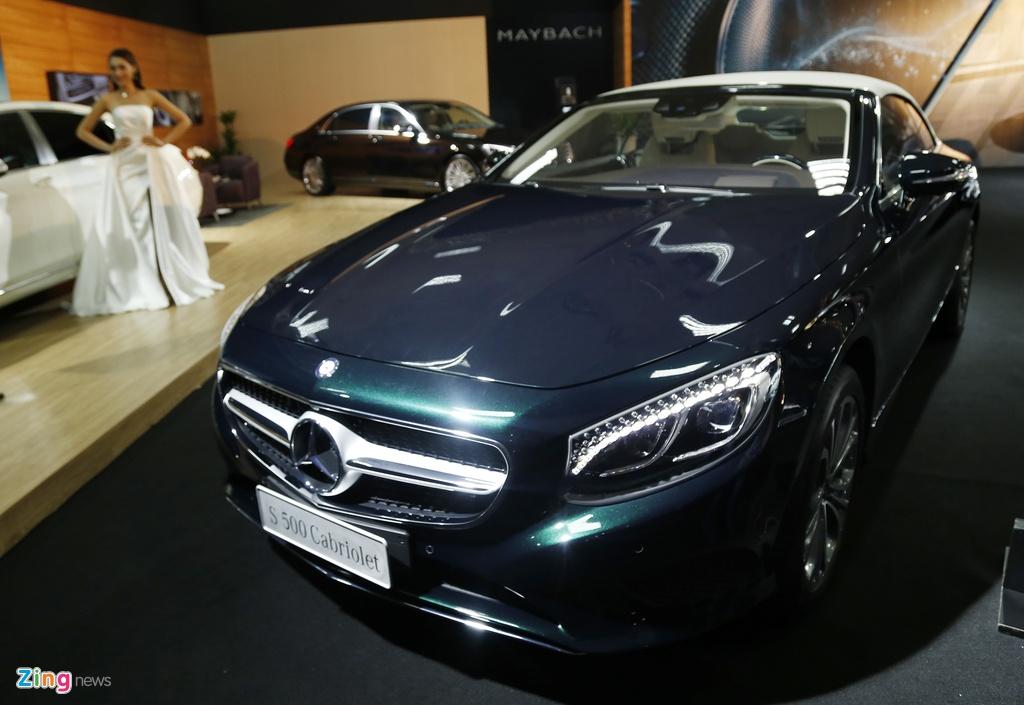 trien lam Mercedes Fascination tai Ha Noi anh 8