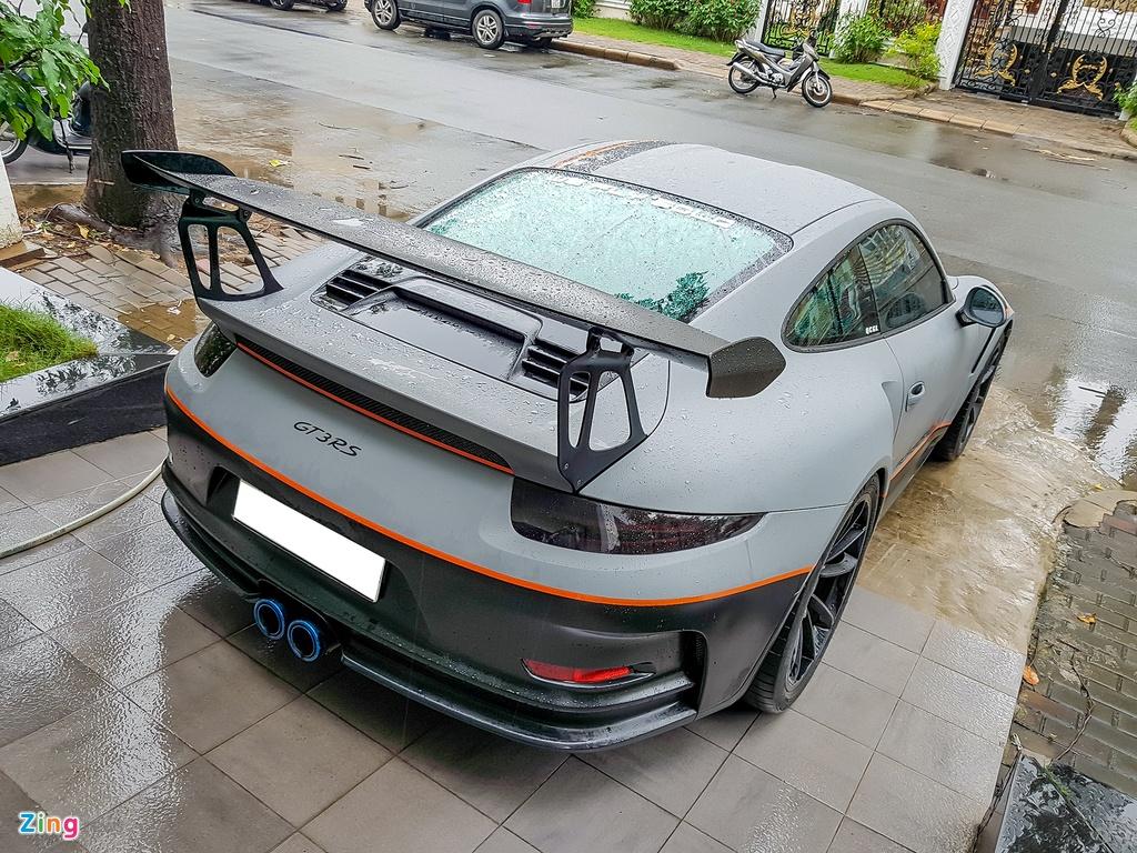 Quoc Cuong Gia Lai do Porsche 911 GT3 goi nho Car Passion hinh anh 3