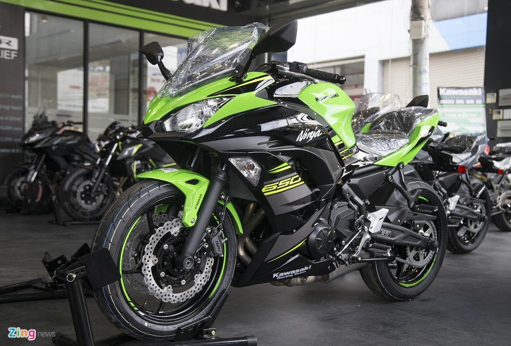 gia Kawasaki Ninja 650 tai Viet Nam anh 1
