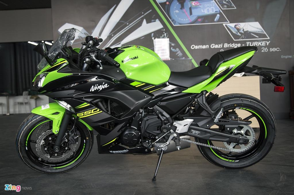 gia Kawasaki Ninja 650 tai Viet Nam anh 8