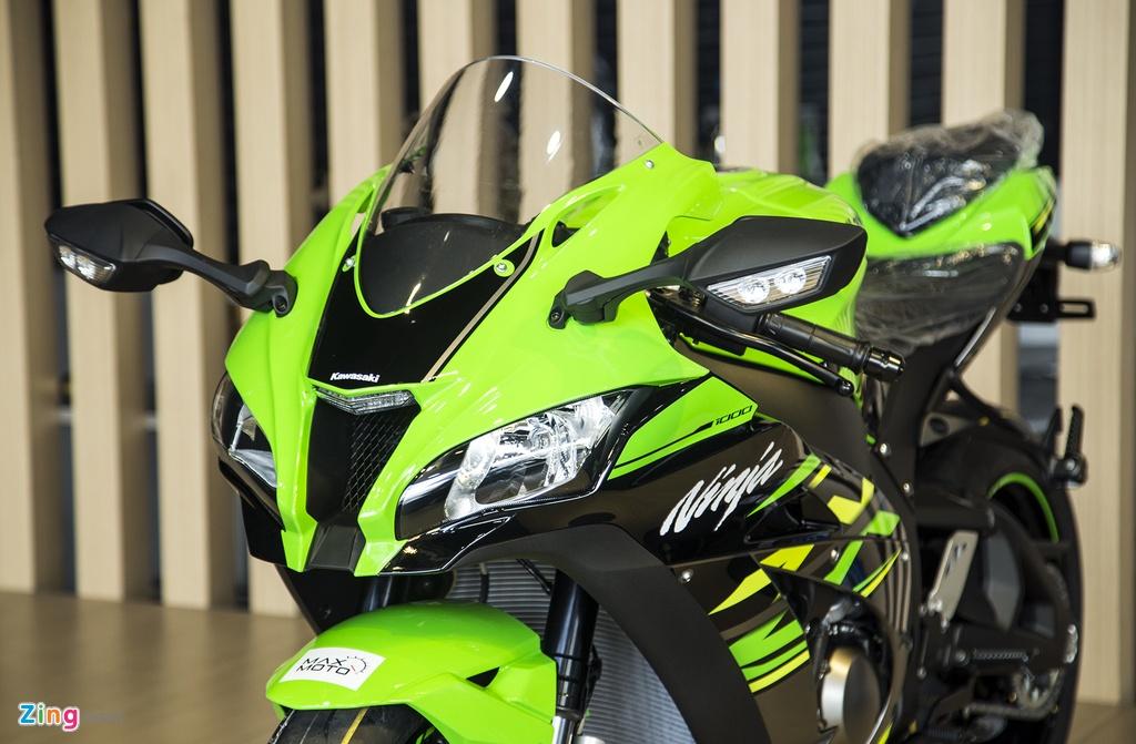 Chi tiet sieu moto Kawasaki ZX-10R gia 549 trieu dong tai VN hinh anh 11