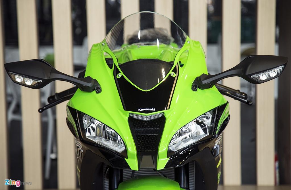 Chi tiet sieu moto Kawasaki ZX-10R gia 549 trieu dong tai VN hinh anh 3
