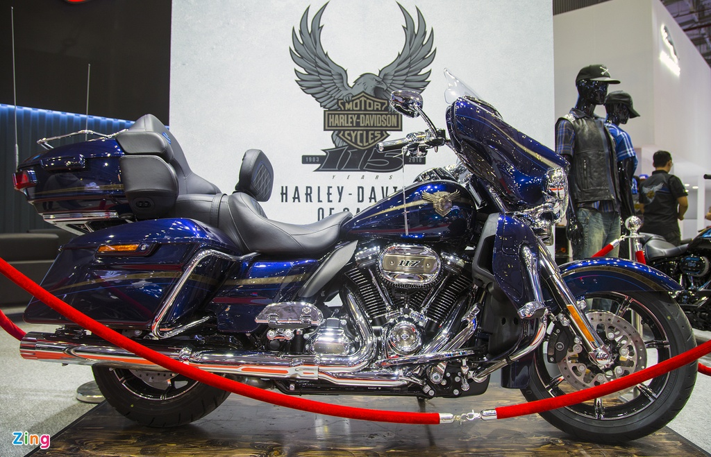Harley-Davidson ban dac biet dat nhat Viet Nam gia 2,3 ty dong hinh anh 1