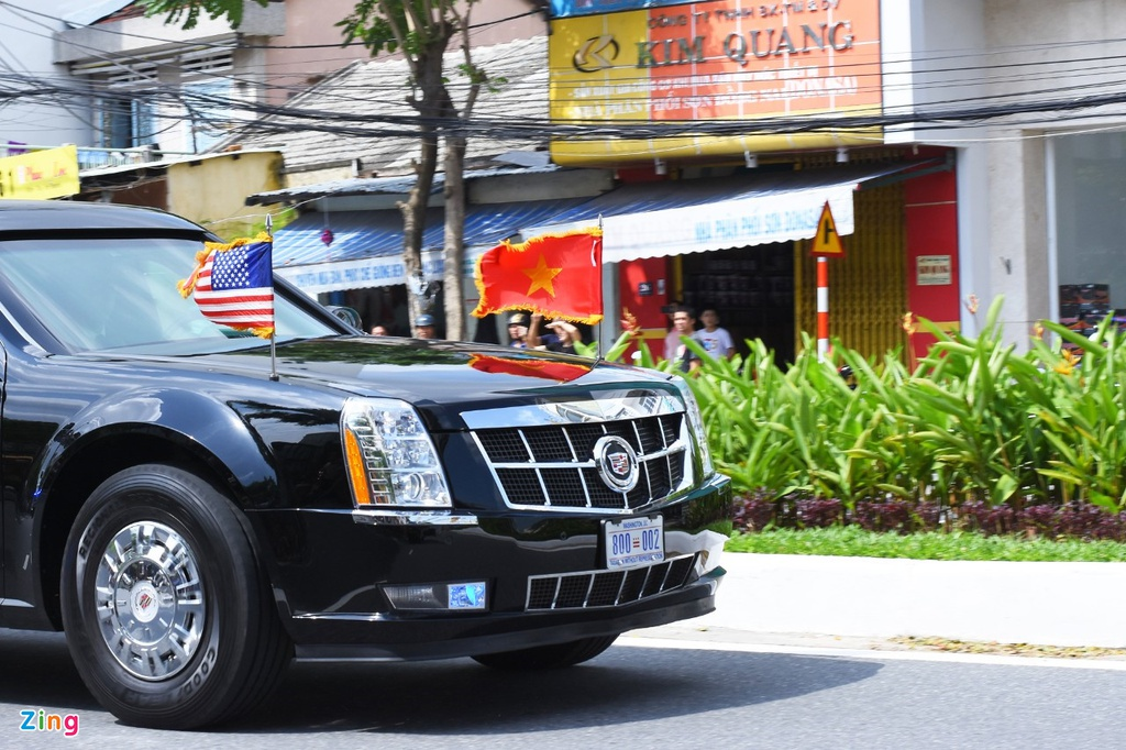 Chuyen chua ke ve dan xe ho tong Tong thong Trump o Viet Nam hinh anh 1