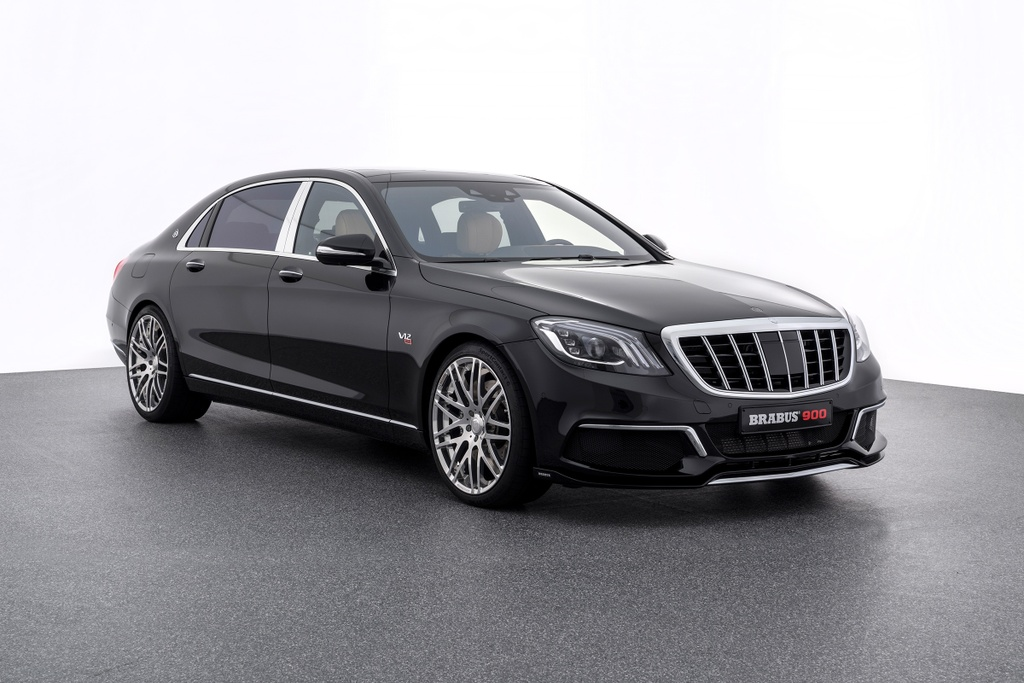 Brabus Mercedes Maybach S650 anh 1