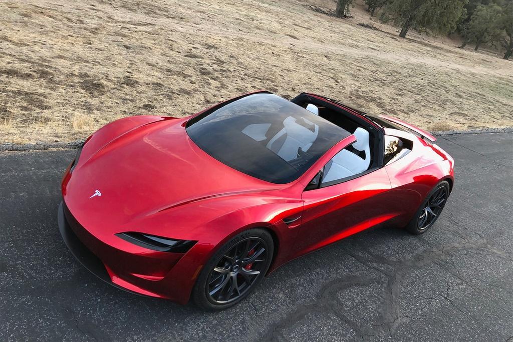 9 dieu bien Tesla Roadster thanh 'iPhone X' cua lang xe hoi hinh anh 4