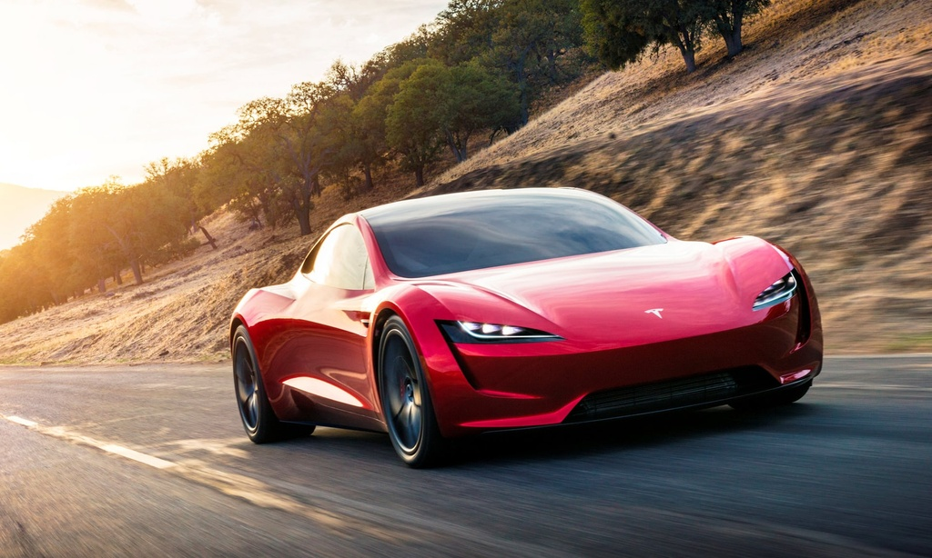 9 dieu bien Tesla Roadster thanh 'iPhone X' cua lang xe hoi hinh anh 1