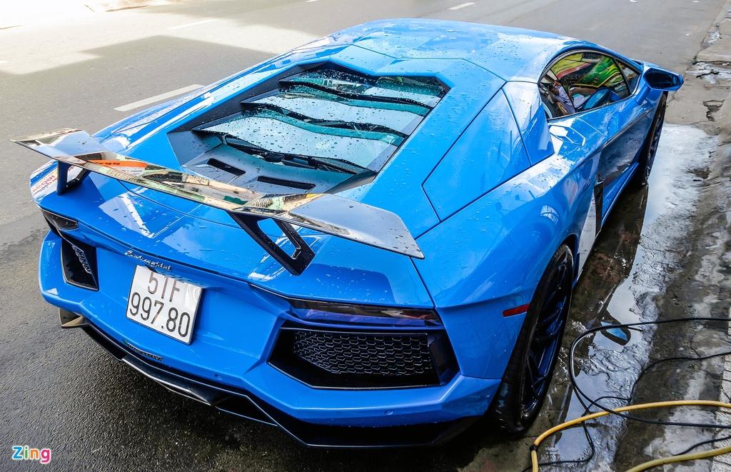 Lamborghini Aventador Sai Gon anh 9