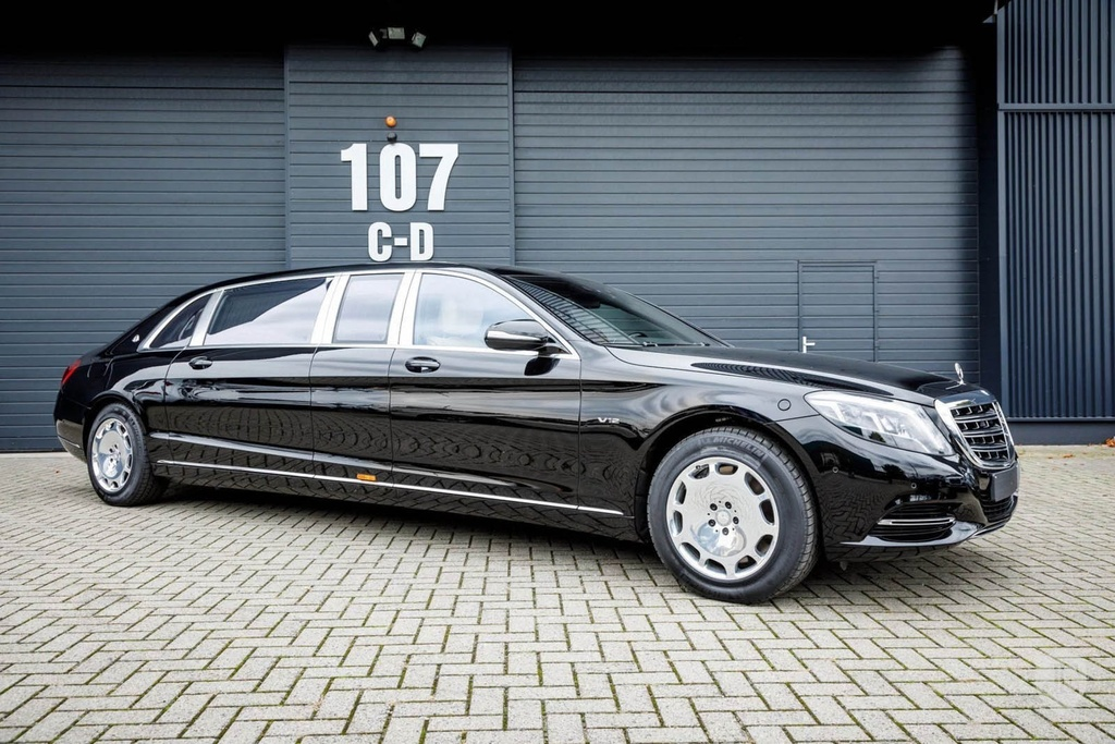 Mercedes-Maybach S600 Pullman anh 4