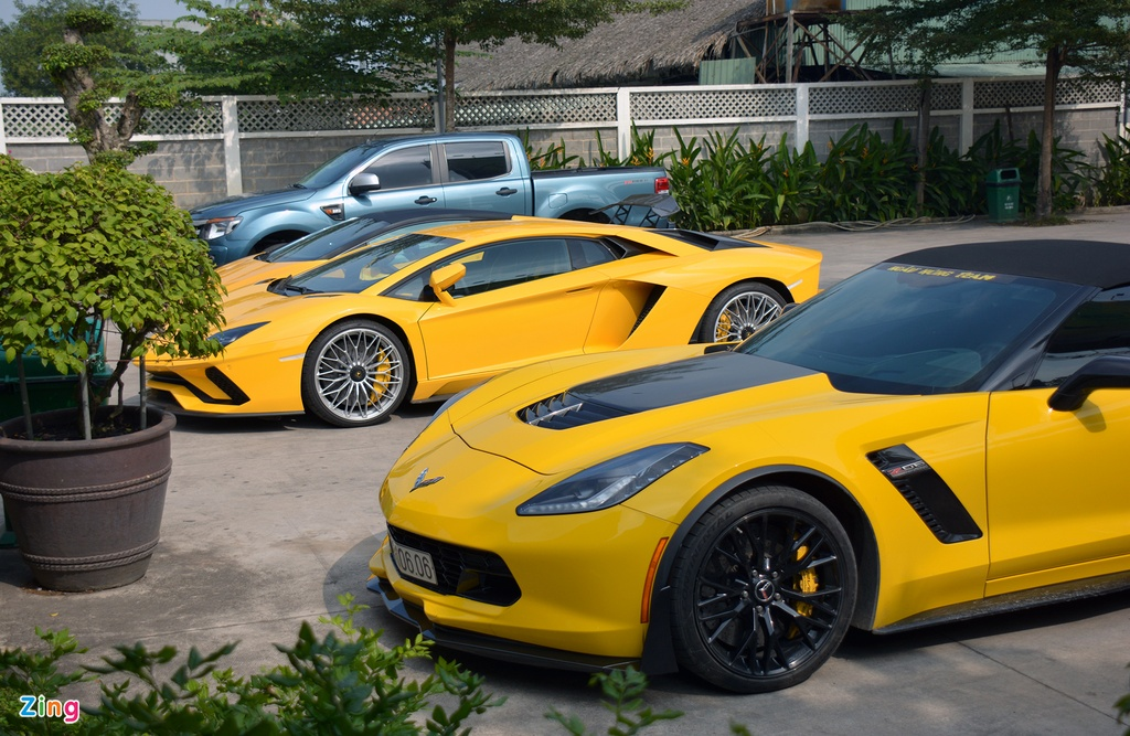 Lamborghini Aventador S o Sai Gon anh 7