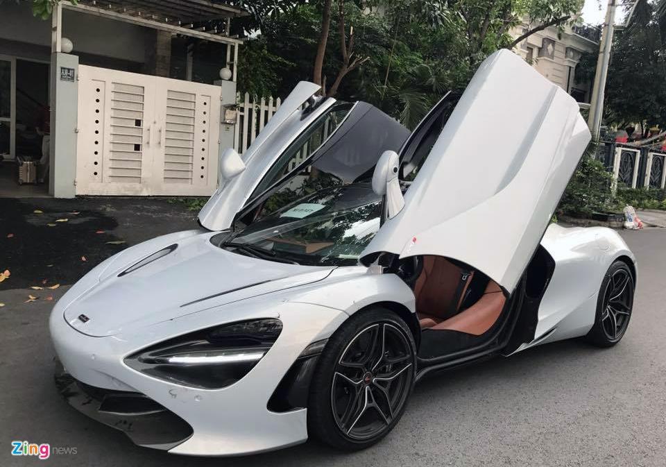 Sieu xe McLaren 720S lan dau xuat hien tren duong Sai Gon hinh anh 2
