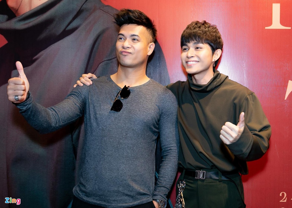 Hai thanh vien Running Man va dan sao Viet mung Jun Pham ra MV hinh anh 3