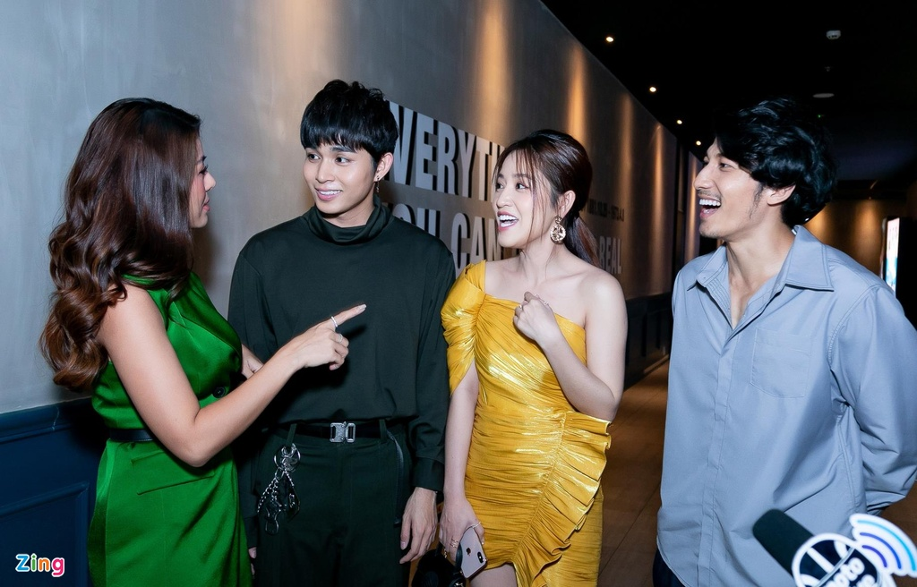 Hai thanh vien Running Man va dan sao Viet mung Jun Pham ra MV hinh anh 8