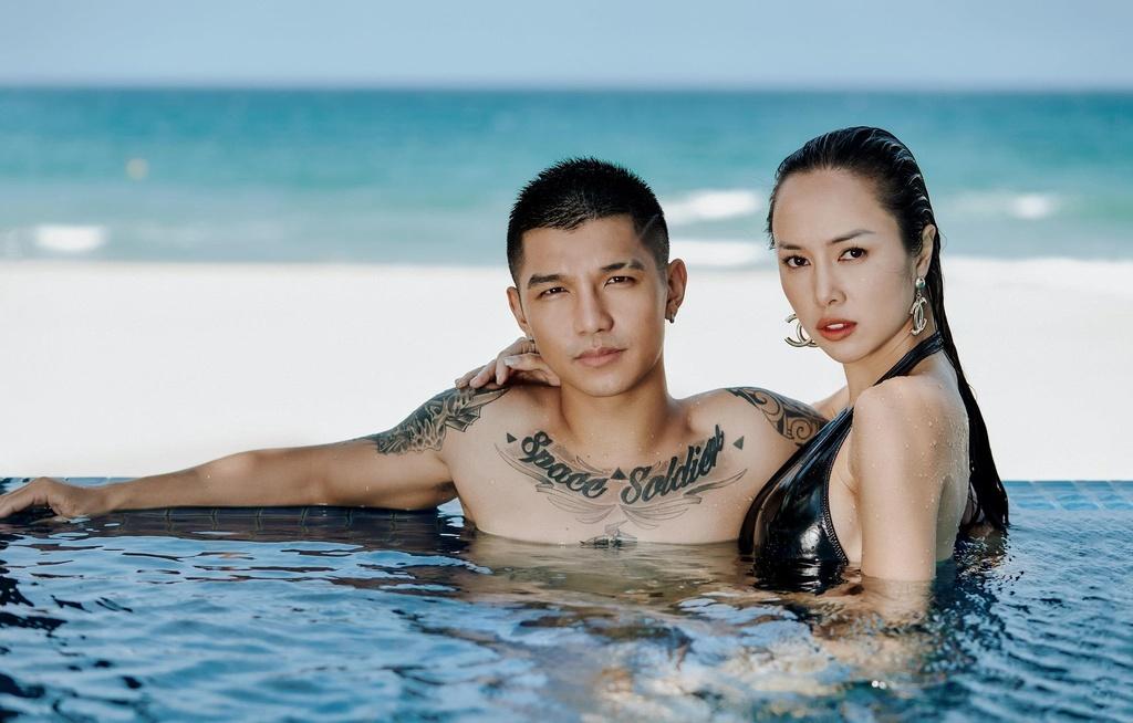 Cuong Seven: 'Toi va Vu Ngoc Anh da yeu nhau duoc mot nam' hinh anh 1