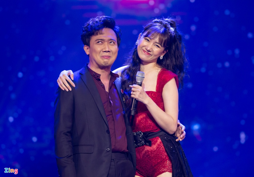 Tran Thanh cam hoa, cung dan sao hat 'Sau tat ca' tang Hari Won hinh anh 5