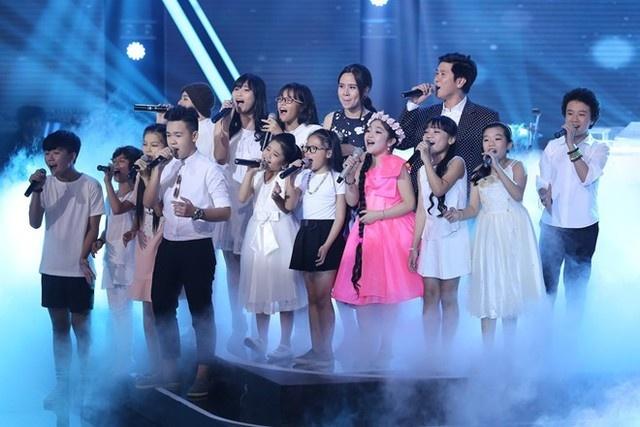 Ba lan Ho Hoai Anh, Luu Huong Giang tao nen quan quan The Voice Kids hinh anh 6