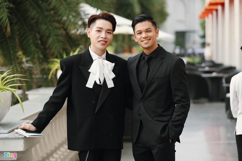 Nha Phuong va dan sao mac goi cam du cuoi Dong Nhi, Ong Cao Thang hinh anh 14