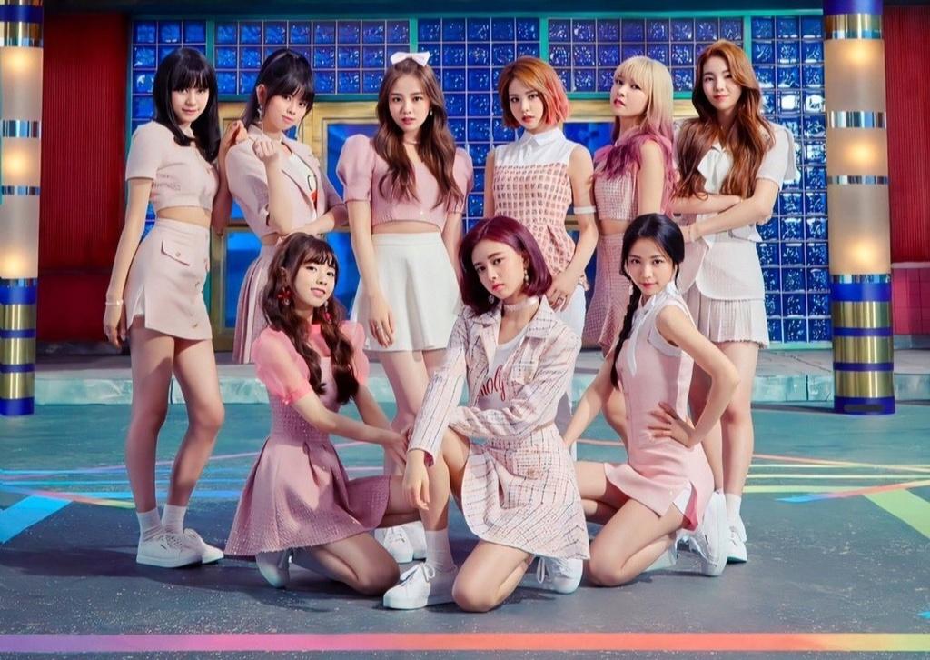 NiziU cua JYP anh 1