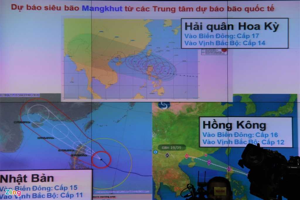 Cong tac ung pho voi bao so Mangkhut, anh 1
