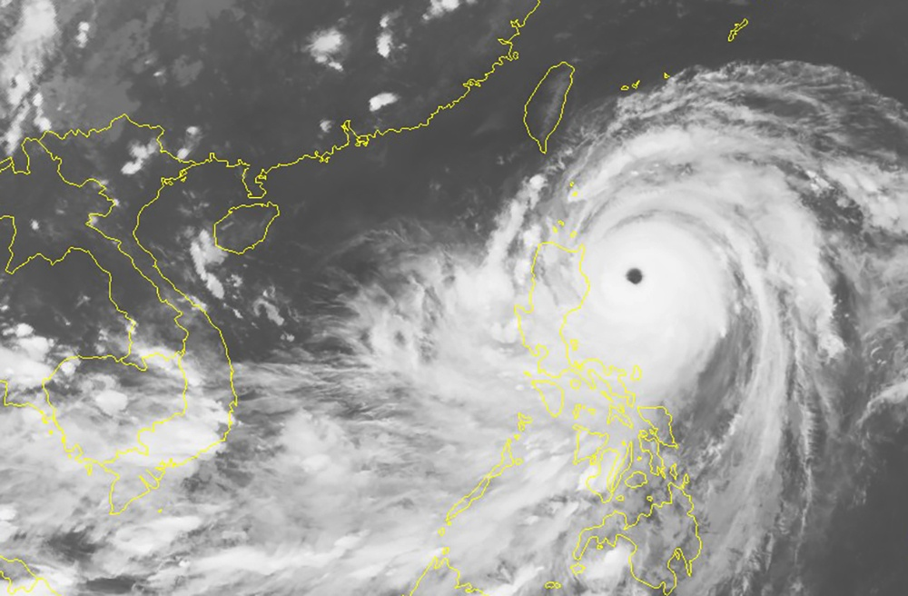 Cong tac ung pho voi bao so Mangkhut, anh 2