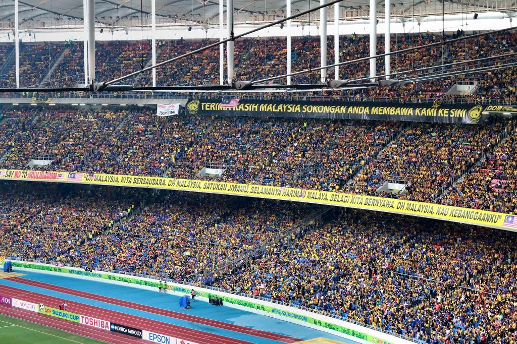Bukit Jalil - dang cap cua chao lua dien ra tran chung ket AFF Cup hinh anh 7