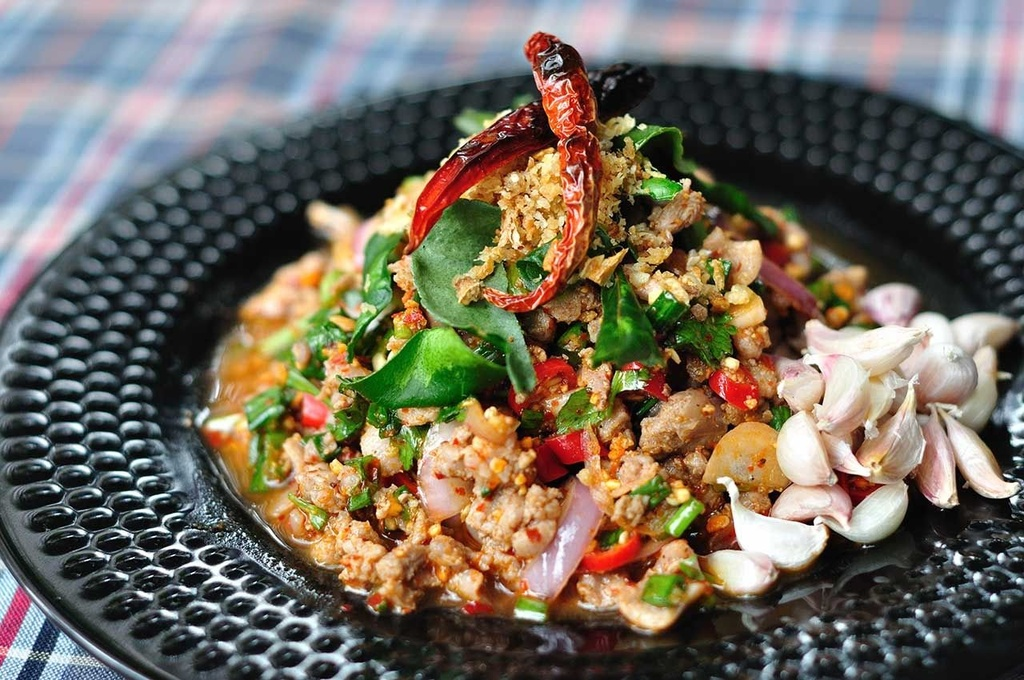 Goi bo song va 6 dac san Thai Lan khien khach nuoc ngoai so hai hinh anh 2