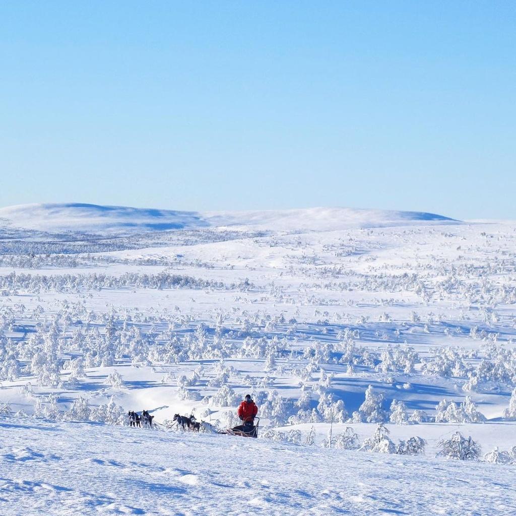 Mùa đông ở Finland quê hương của ông già Noel