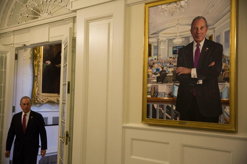 Ty phu Michael Bloomberg,  Thi truong NewYork,  Ty phu truyen thong,  Chinh truong My,  Donald Trump anh 1