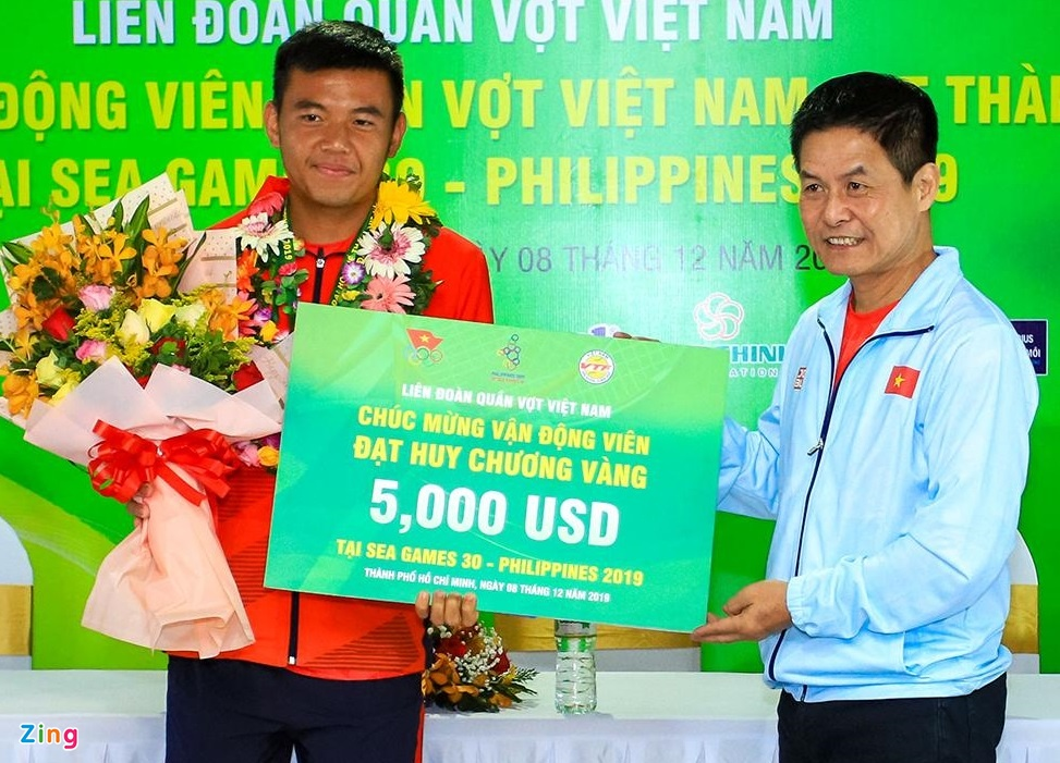 Ly Hoang Nam nhan 5.000 USD sau HCV lich su o SEA Games 30 hinh anh 4