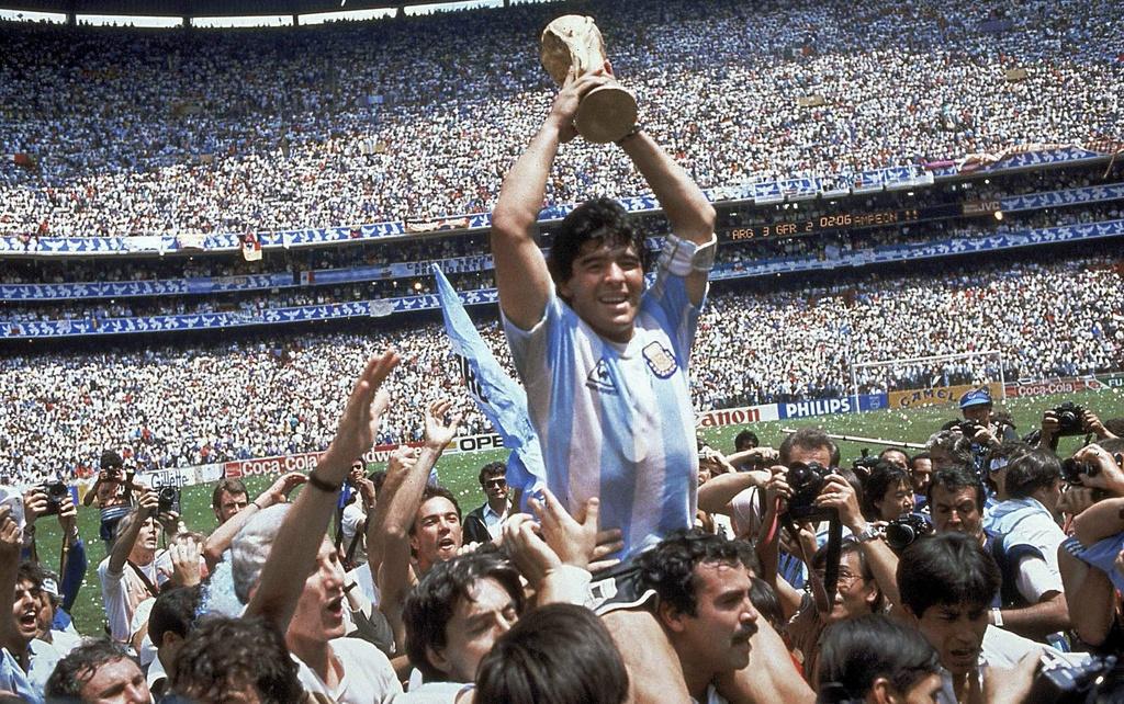 Nc247info tổng hợp: Maradona là số một ở Argentina