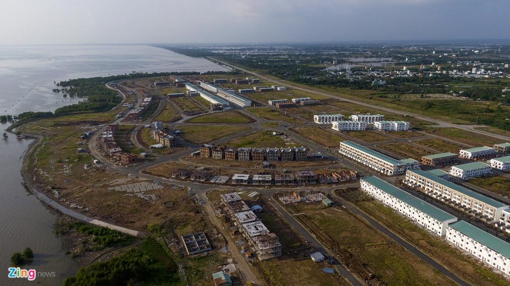 Khu đô thị lấn biển đầu tiên của Việt Nam sau 20 năm xây dựng - Ảnh 10.