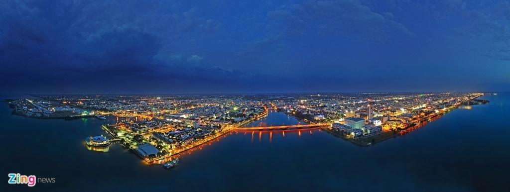 Khu đô thị lấn biển đầu tiên của Việt Nam sau 20 năm xây dựng - Ảnh 12.