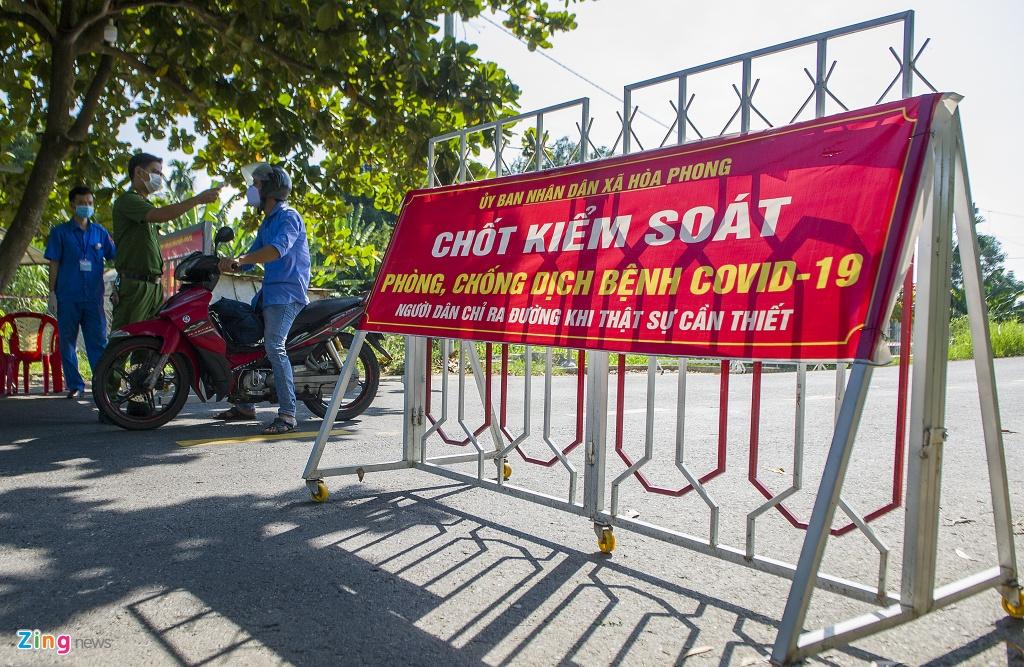 Phong toa thon Thach Bo anh 1