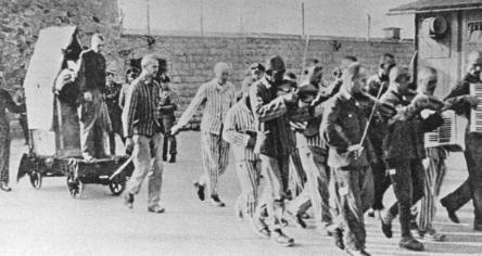 Nha tu Duc Quoc xa,  Mauthausen anh 8